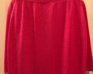St. John Fuchsia Pink Suit Jacket, Skirt & Shell  3PCS  Size 6