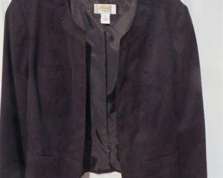 Talbots Suede Jacket  P10