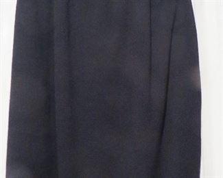 St. John Black Knit Skirt size 6