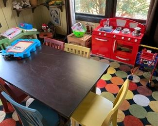 Pottery Barn Kids table and chairs!