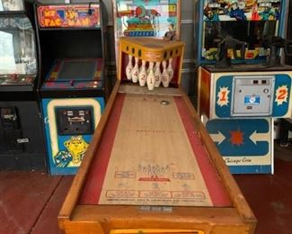 Vintage pinball games - all are available for presale. Text offers to 847-772-0404. Please be specific regarding which machine you are interested in.Pinball and arcade machines.