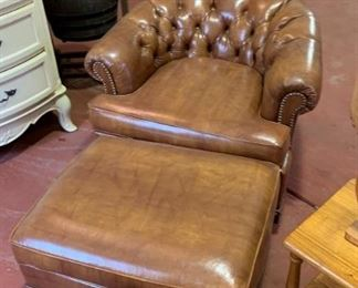 Great set of club chairs with fine detail.