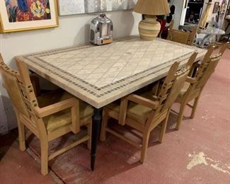 Solid quality table and chairs. Table can be sold separately.