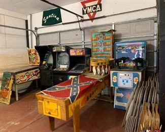 Vintage pinball games - all are available for presale. Text offers to 847-772-0404. Please be specific regarding which machine you are interested in.