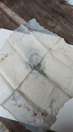 1905 Centennial Exposition Lewis & Clark  Portland, OR silk hankie Teddy Roosevelt