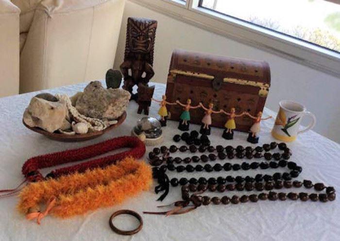 WWT008 Hawaiian Collectibles, Shells & Stones