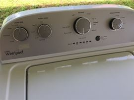 Whirlpool Washer--works