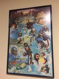 Sports memorabilia poster