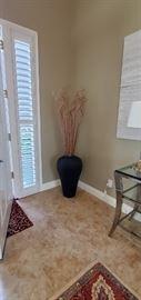 Entry vase $30.00