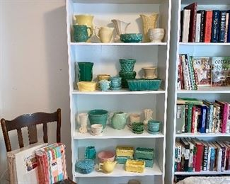 McCoy Pottery, Yellow, Green, Blue, Pink and Cream