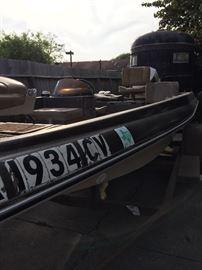 Tidecraft Outdoor Motorboat, Trailer & Motor