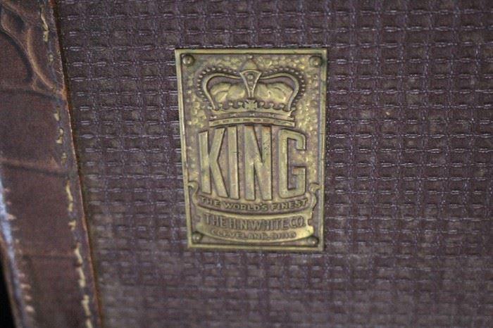 Antique King Trumpet