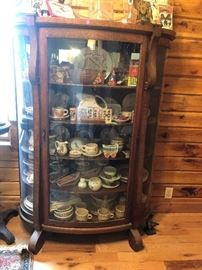 CURVED CHINA CABINET