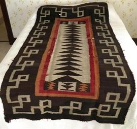 Navajo Hand Woven Rug or Blanket