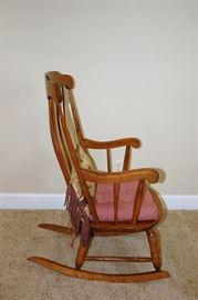 Nicholas Stone Rocking Chair