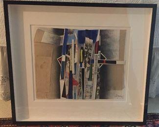 Bertrand Dorny - collage