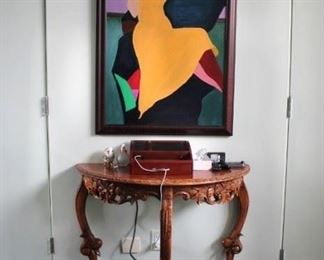 Art  and Foyer Table