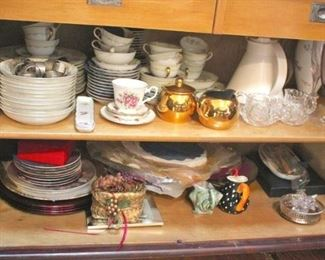 China Sets and Assorted Dishware