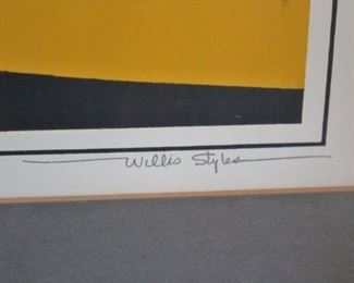 Variety of Art Throughout including Willis Styles