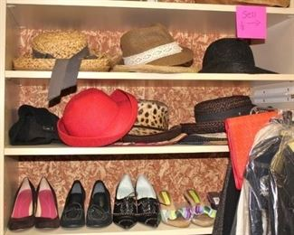 Women's Hat and Shoes