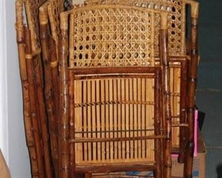 Bamboo Folding Chairs and Golf
