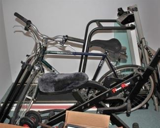 Bicycle, Treadmill and other Gym Equipment