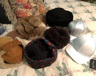 Fur Hats, Caps and more
