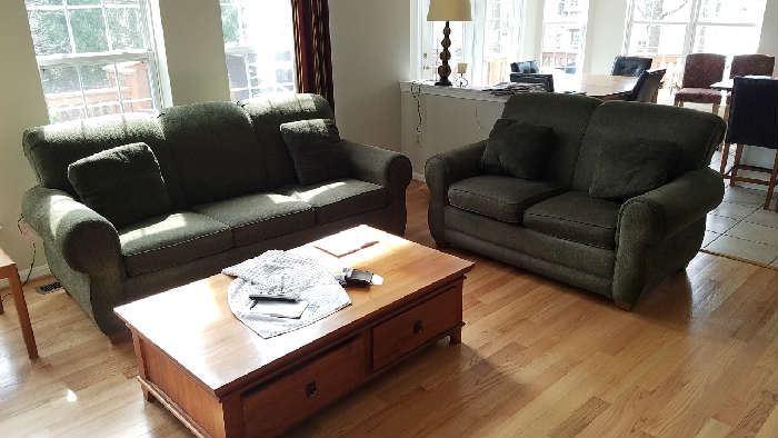 living Room like new sofa, love seat