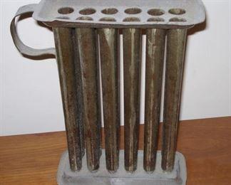 Antique Tin Candle Mold