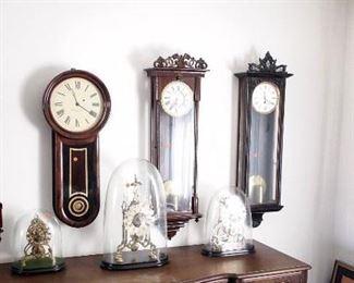 Viennas, Howard & Skeleton clocks
