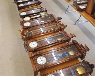 Vienna Regulator wall clocks