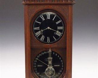 Ithaca Kildare No. 13 calendar shelf clock