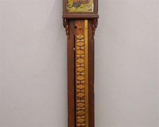 19th century Japanese 1-day striking Pillar clock