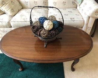Ethan Allen Coffee Table and Side Table