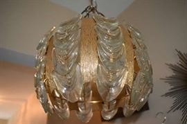 Mid Century Hanging Light