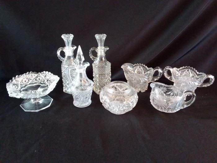 Assorted Vintage Crystal