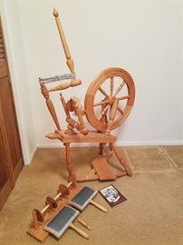 Beautiful Spinning Wheel
