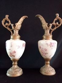 Two Vintage Decorative Vases