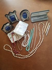 Various Frames and Jewelry