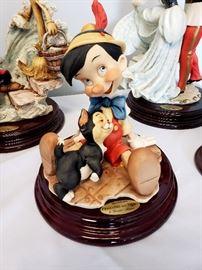 "Giuseppe Armani ""Pinocchio and Figaro"" #464 from Disney's Pinocchio"