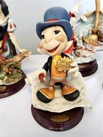 "Giuseppe Armani ""Jiminy Cricket"" #379 from Disney's Pinocchio - hand signed by Giuseppe Armani"