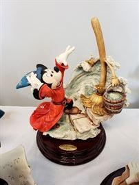 "Giuseppe Armani ""The Sorcerer's Apprentice"" #325 from Disney's Fantasia - hand signed by Giuseppe Armani"