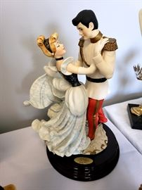 """Giuseppe Armani """"Cinderella and Prince"""" #107 from Disney's Cinderella - Limited Edition 638/1000 - hand signed by Giuseppe Armani"""