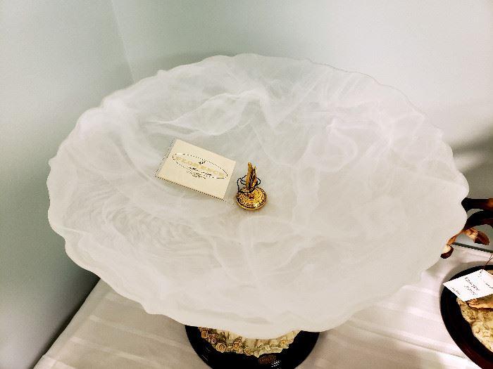 "Giuseppe Armani ""Girl with Cherubs"" #1225 table centerpiece - with original box"
