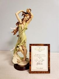 """Giuseppe Armani """"Aurora"""" #884 - Limited Edition 1881/7500 - includes framed Certificate of Authenticty"""