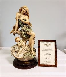 """Giuseppe Armani """"Virgo"""" #425 - Limited Edition 665/5000 - includes framed Certificate of Authenticity"""
