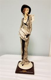"""Giuseppe Armani """"Lady with Muff / The Muff"""" #388 - Limited Edition 3270/5000"""
