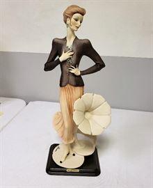"Giuseppe Armani ""Lady with Gramophone"" #2151"