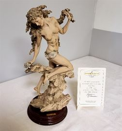 """Giuseppe Armani """"Spring Herald"""" #1009 - Limited Edition 799/1500 - includes Certificate of Authenticty"""