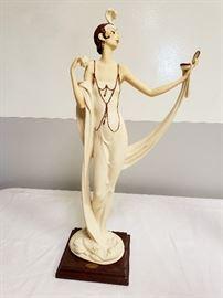"Giuseppe Armani ""Lady with Powder Puff / The Mirror"" #386"